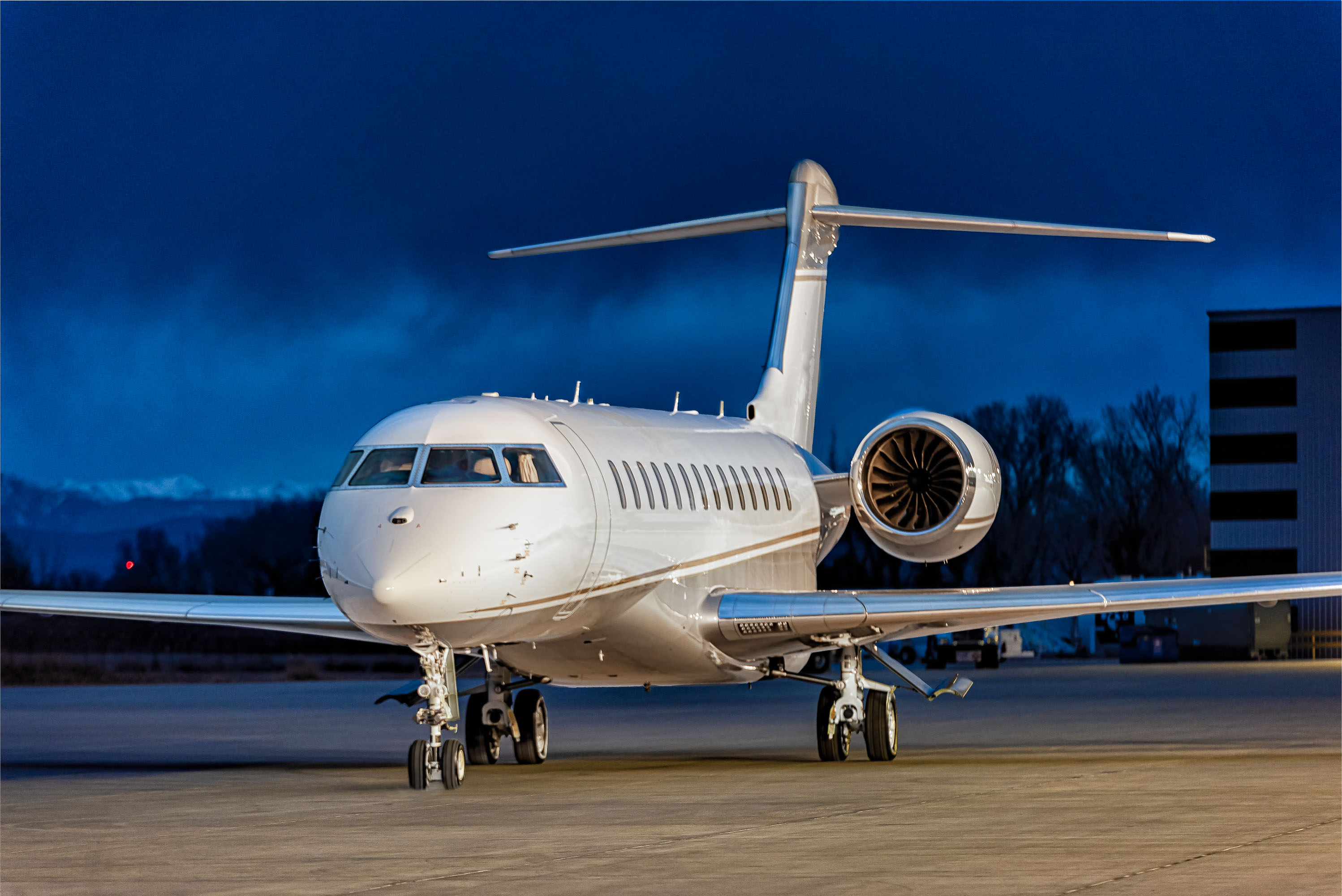 Private Jet Photography